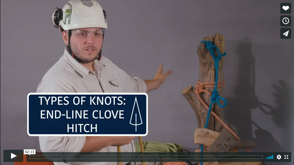 How-To: Tying an End-Line Clove Hitch