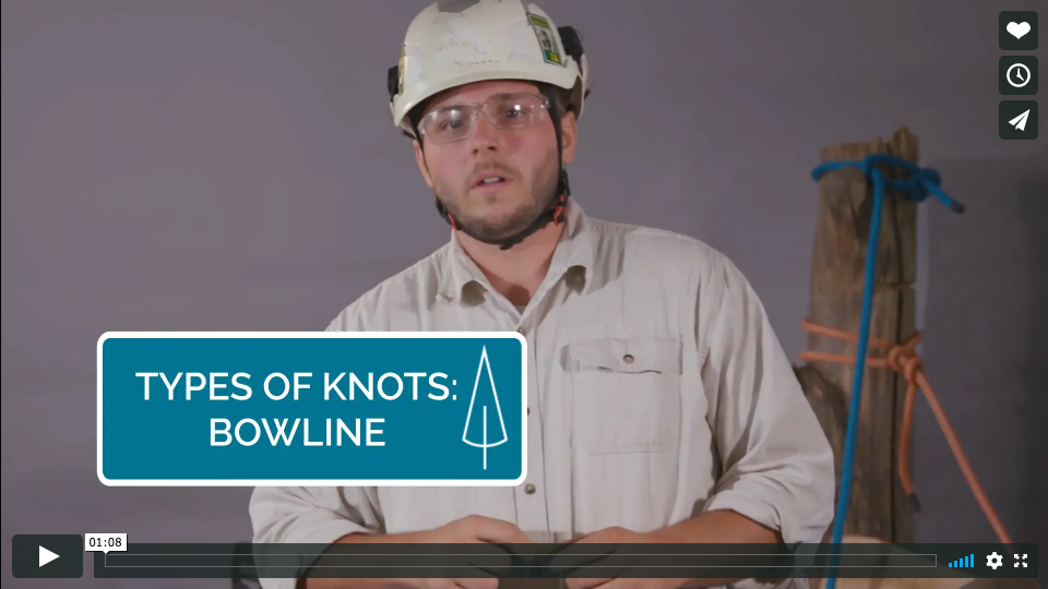 How-To: Tying a Bowline knot